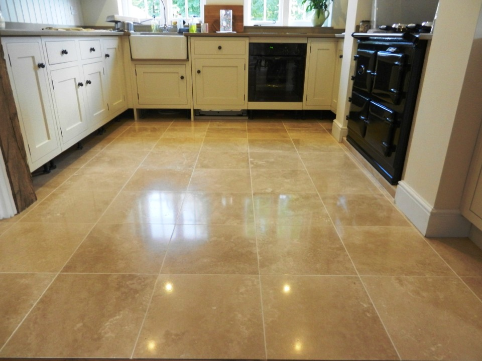 Travertine Floor Repolished – Stone Cleaning and Polishing ...