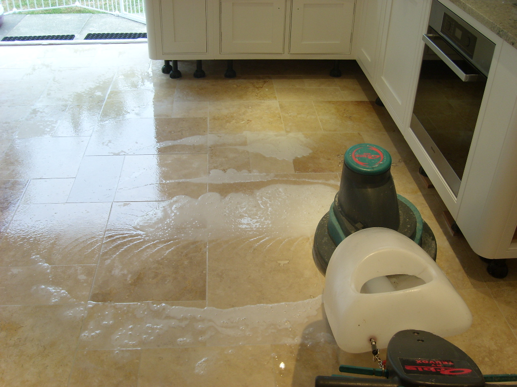 Travertine Kitchen Floors