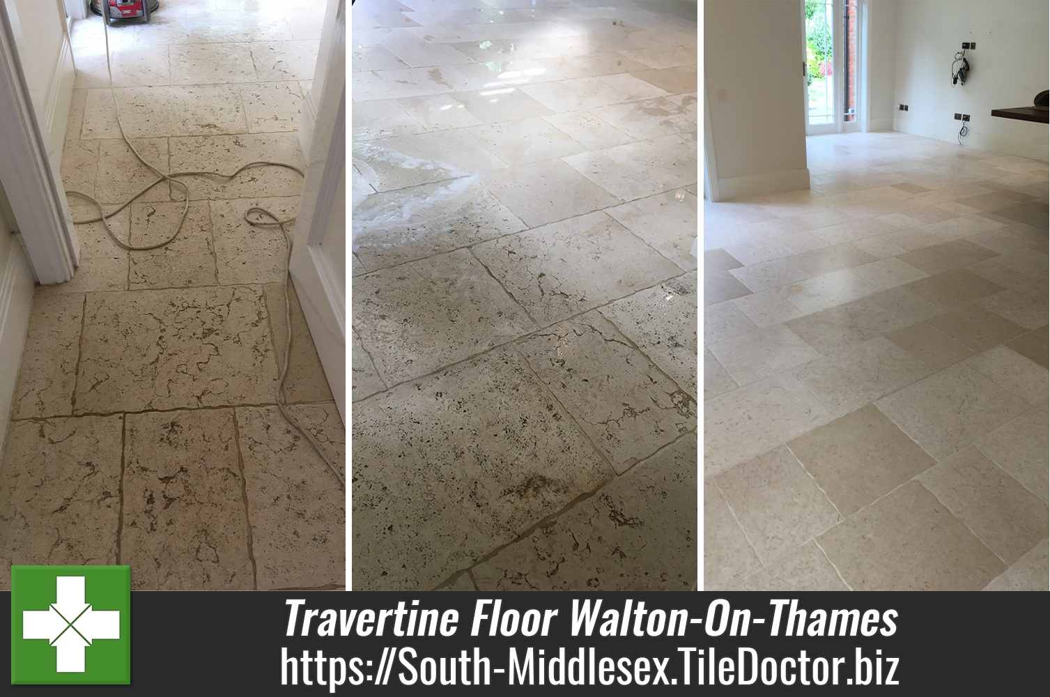 Travertine-Floor-Renovation-Walton-on-Thames-Middlesex