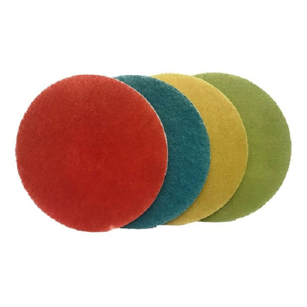 Pack of Four 17inch Stone Floor Burnishing Pads